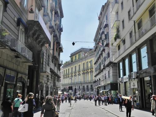Naples, autour du Palais Royal et de l'Opéra (photos)