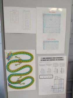 Ma classe organisée en centres