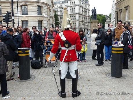 Palais de Whitehall et sa garde