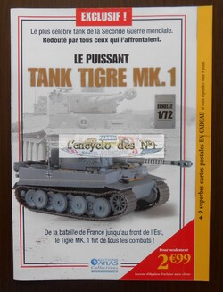 Le puissant Tank Tigre MK.1 - Test