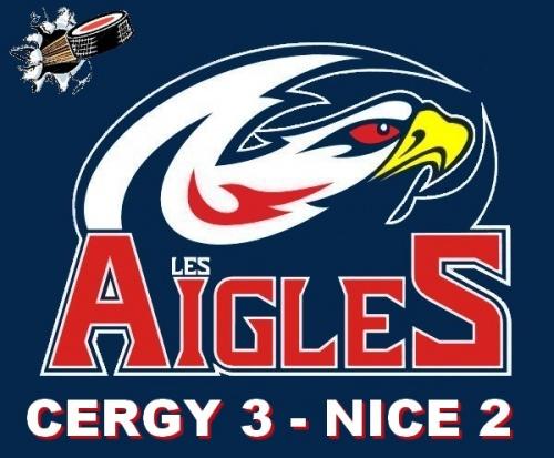 CERGY 3 - NICE 2