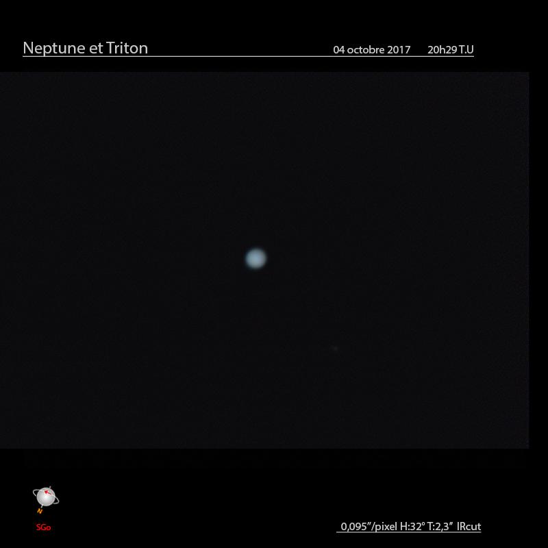 Neptune du mois d'octobre
