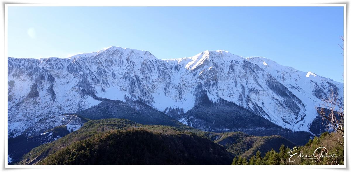 Vallée de la Haute Bléone en hiver