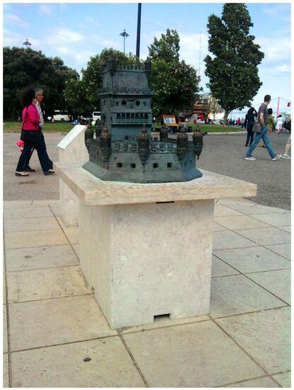 Maquette de la tour de belém