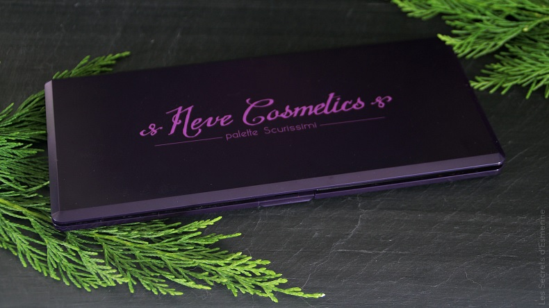 palette scurissimi - neve cosmetics - makeup mineral