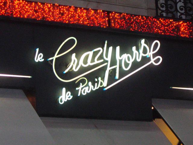 Paris et Le Crazy Horse