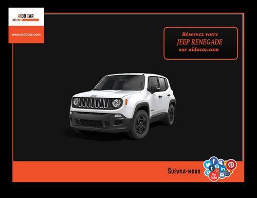 Location Jeep renegade & Alfa Romeo Giulietta au Maroc