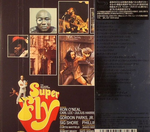"2009 : CD "" Superfly O.S.T. "" Victor Japan Entertainement VICP 70093 [ JA ]"