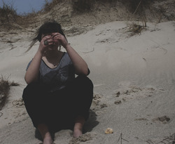 .Perdue dans la dune.