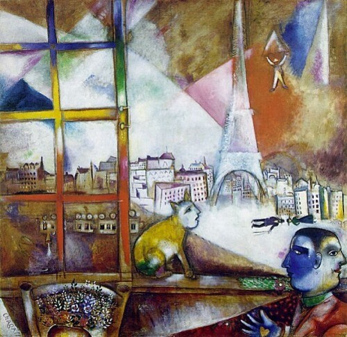 chagall paris