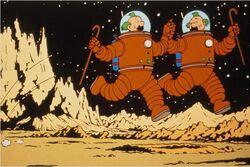 Martin dans l'espace