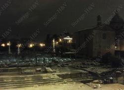Rome sous la neige : hiver 2012