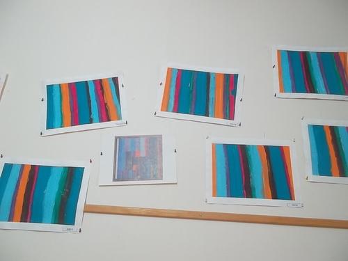 Notre second tableau de Klee
