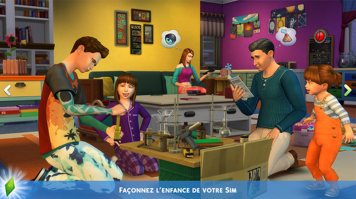 Pack de jeu : Être parents