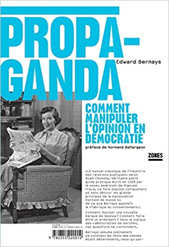 ➤ Citation de Edward Bernays (Propaganda) le complot contre la conscience des peuples