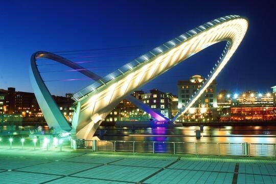 pont du millenium de gateshead