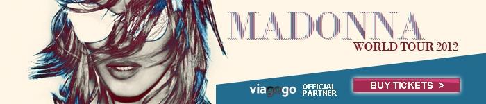 Madonna World Tour 2012 - Buy Tickets