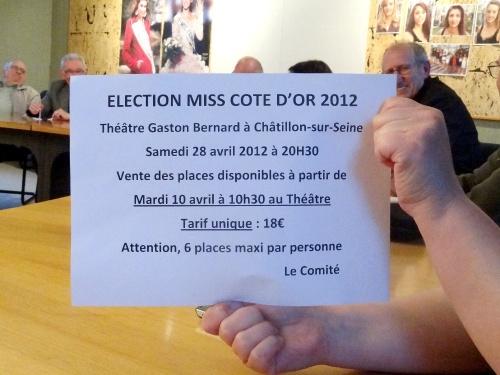 L'élection de Miss Côte d'Or se prépare fièvreusement !