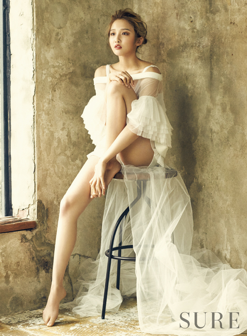 Nam Ji Hyun pour Sure