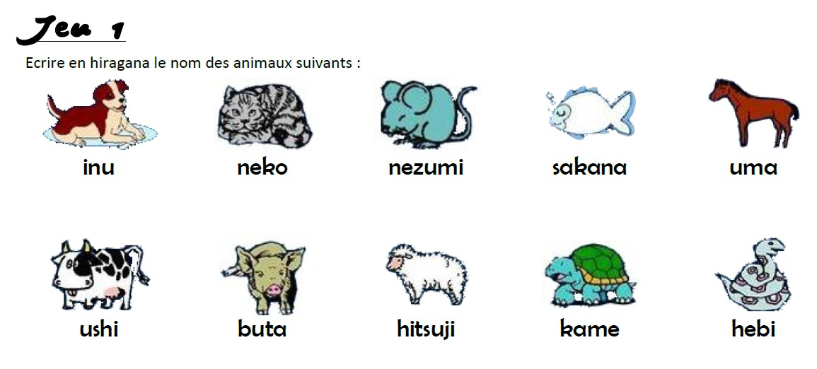 Exceptionnel Nom animaux japonais - taupier sur la France LP84