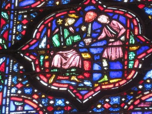 À paris, la Sainte Chapelle