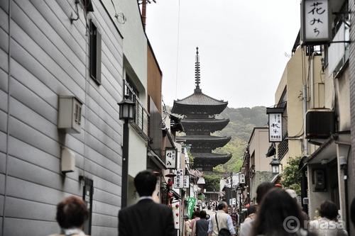 日曜日京都 dimanche à Kyoto