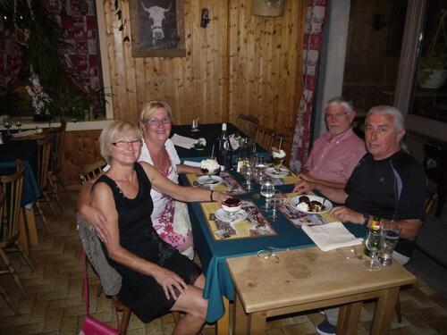 Avec nos amis Aveyronnais