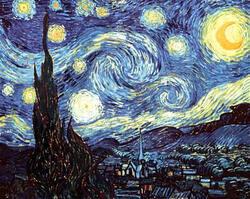 La nuit étoilée