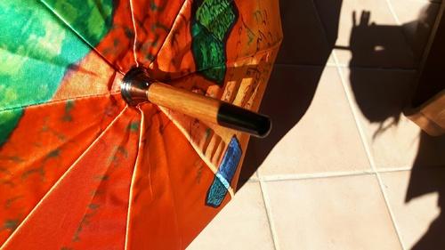 Gros plans d'ombrelles