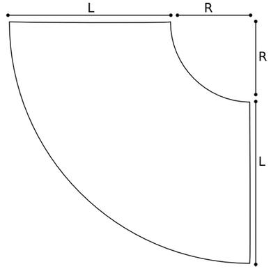schéma jupe corolle