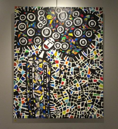 Claude Rivière expose à la Galerie d'Art et d'Or de Châtillon sur Seine