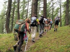 Séjour à Embrun: quelques photos des randonnées du groupe 1