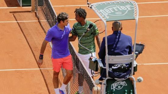 Federer était trop fort pour Monfils