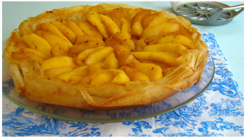 TATIN DE POMMES À L'ORANGE