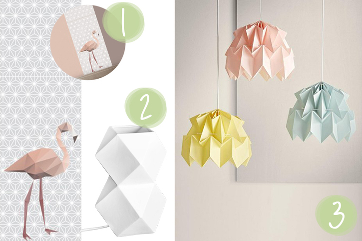 Tendance déco Origami - Magic Octopus Blog