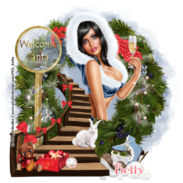 Merry Xmas Girl