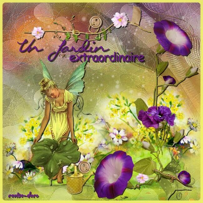 cadeau : cluster jardin extraordinaire