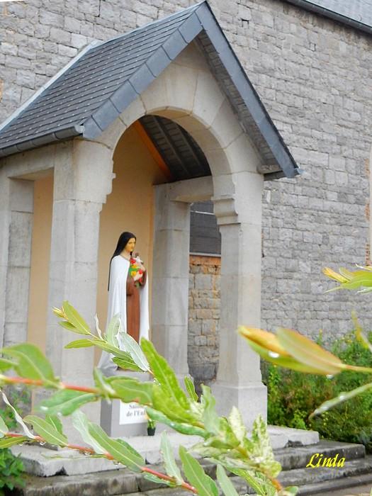 Belgique: Hastière Eglise St Nicolas