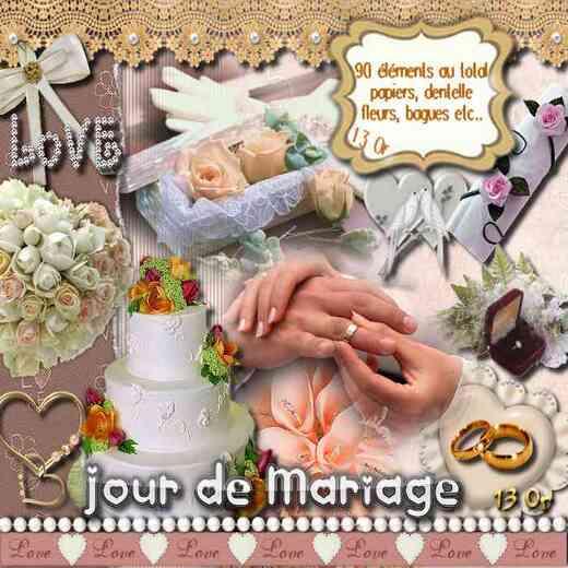 Scrap Jour de Mariage