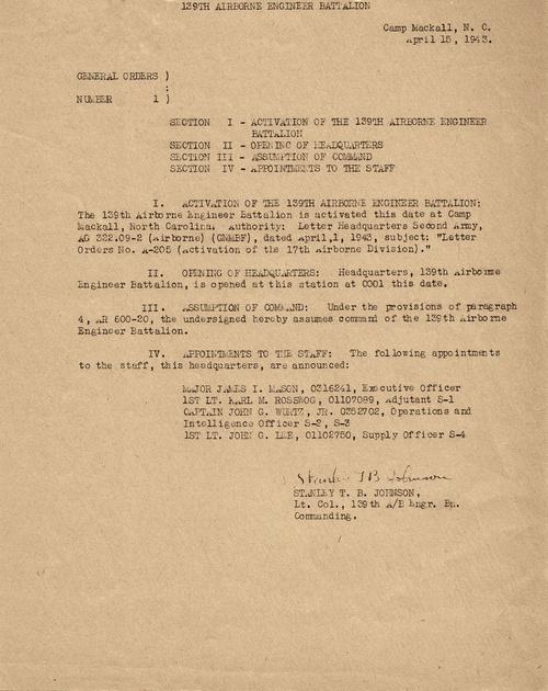 139th AEB history