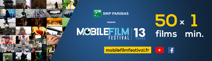 Ouverture du Mobile Film Festival 2018 - 50 films x 1 minute