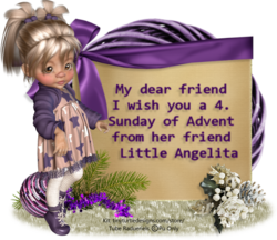 Regalo di Angelita per il periodo di Avvento