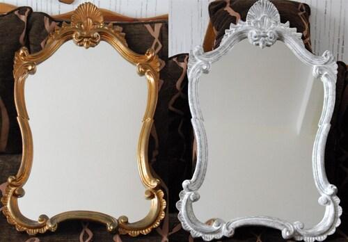 Relookage d'un miroir...