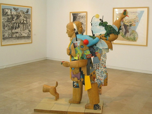 Musée Saint-Roch-Issoudun-Alain Macron, sculpteur