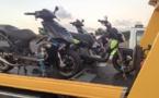 Contrôle de gendarmerie: Sur 12 scooters contrôlés, 9 en infraction dont 5 à la fourrière