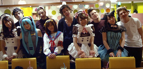 One direction X Japan Cosplay's