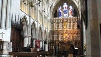 * Visite de la cathédrale de Southwark