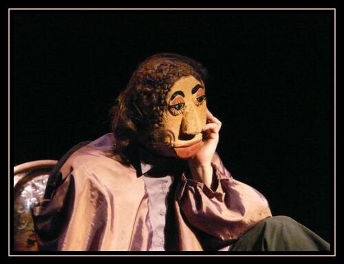 Marionnettes : la répétition. Printemps 2009