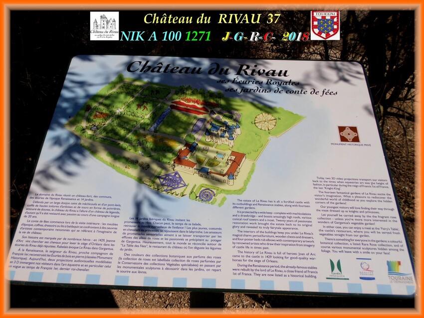 CHATEAU & JARDINS DE RIVAU   1/3 -1/10      D       04/01/2020