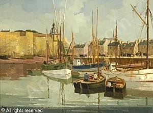yan-robert-1901-1994-france-l-arriere-port-de-concarneau-19